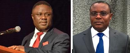 Governor Ayade and Joe Agi SAN