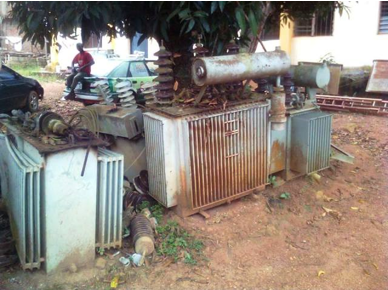 One of the transformers in Obudu (CrossRiverWatch pix)