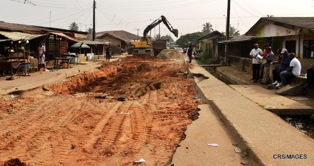 Rehabilitation of Ikot Eyo, Off Parliamentary Road, Calabar Municipality