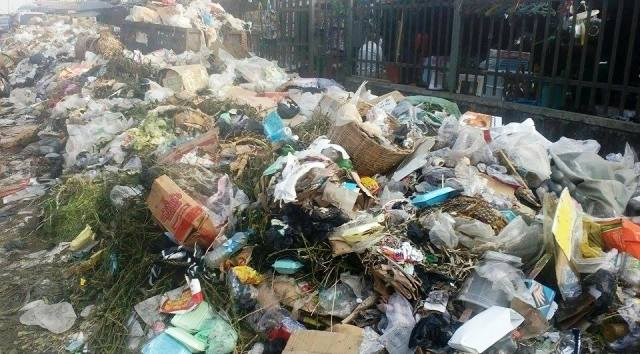 Mounting garbage in Calabar streets