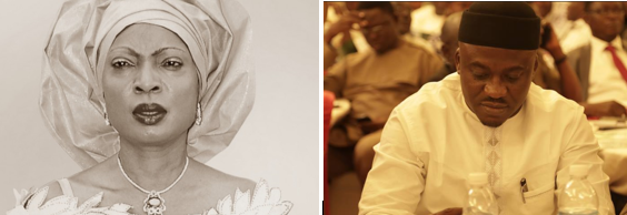 Senator Rose Oko and Hon. Legor Idagbo