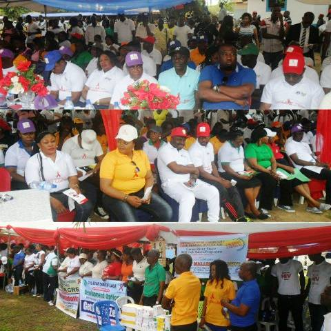Scenes from the World AIDS day celebration in Calabar - senior government officials and House of Assembly members in attendance