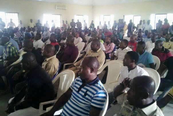 PDP faithfuls meeting in Obudu