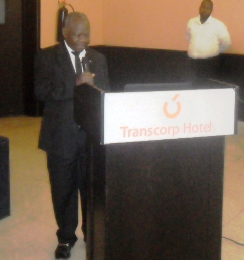 Professor Hogan Ekpo, Director General, West African Institute for Financial and Economic Management