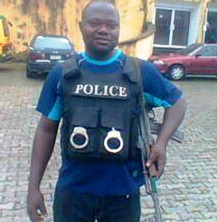 Sergeant Anthony Idoko - one of the accused killer cops
