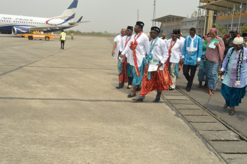 Arriving at the Aiport in Calabar