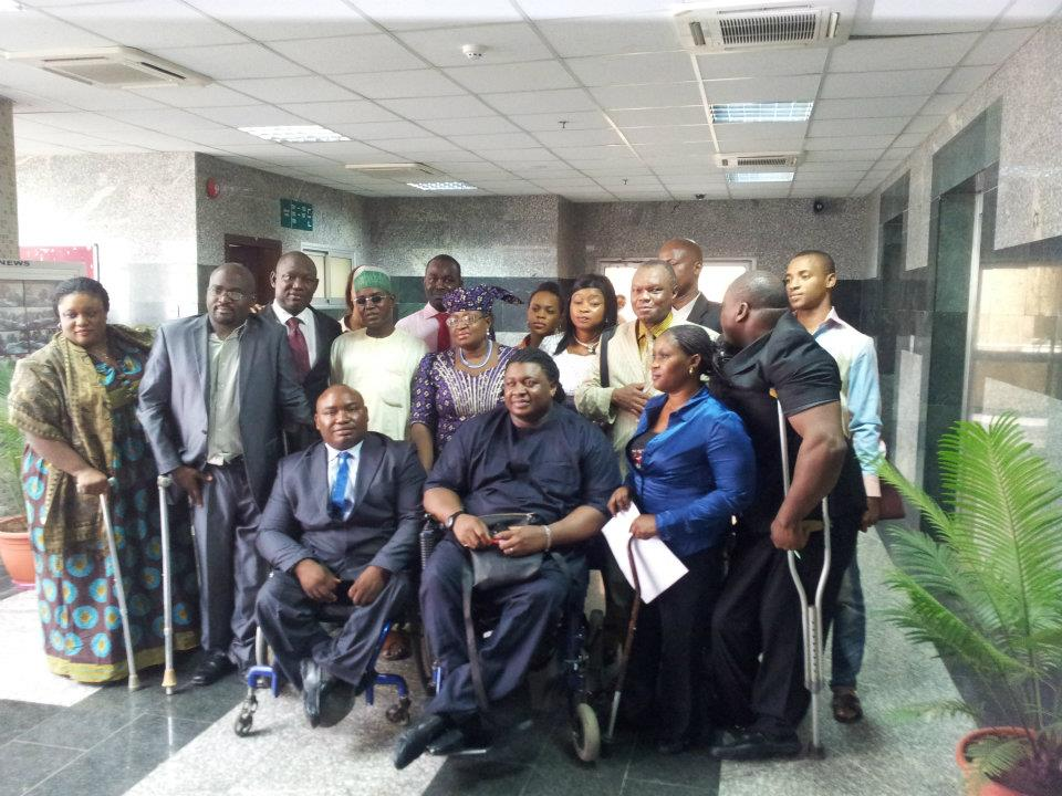 Members of the Joint National Association of Persons With Disabilities (JONAPWD)