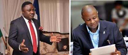 Governor Ayade and Mr. Odey Ochicha