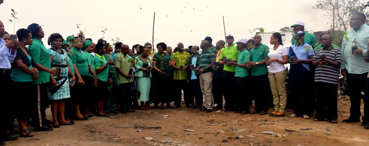 48 persons with 48 trees, each representing each year in Governor Ayade's life