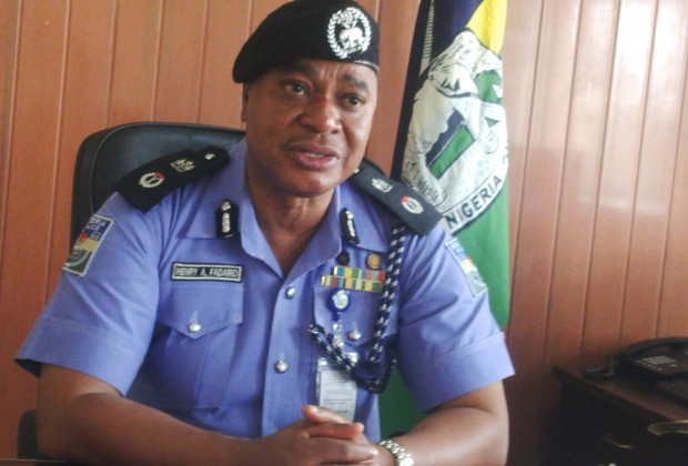 Henry Fadairo, Cross River State Commissioner of Police