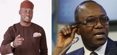 Hon. Jarigbe Agom and Ibe Kachukwu