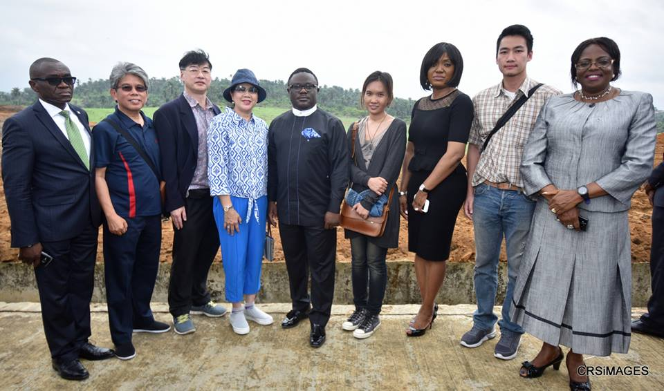 Governor Ayade and the Thai Rice City Investors in Calabar