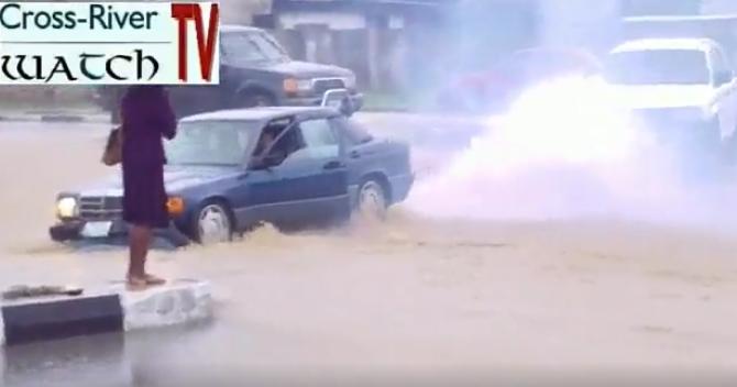 calabar flood