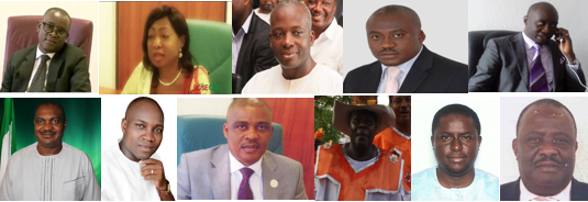All members of the National Assembly from Cross River State, (3 Senators, 8 Members of the House of Reps)
