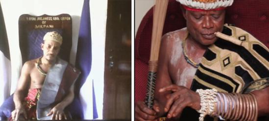 Obol Lopon of Ugep (R) and Obol Lopon of Mkpani