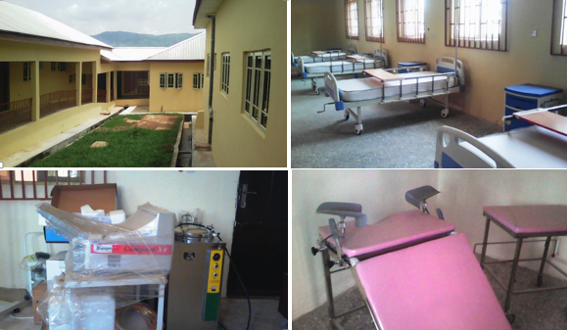 Ongoing renovation and facility stocking at the Obudu General Hospital