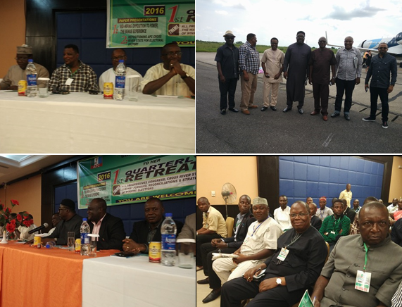 Scenes from the APC retreat yesterday in Calabar