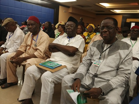 APC chieftains at the retreat in Calabar