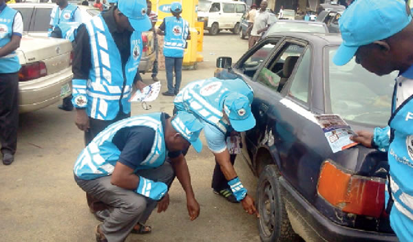 Special Marshals on inspection in Calabar. Photo Credit: PUNCH