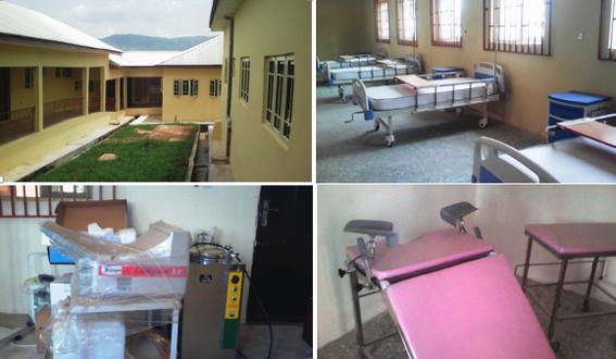 Renovated facilities at the Obudu General Hospital