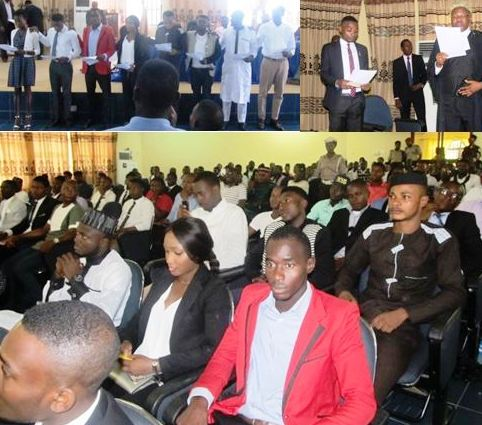 Scenes from the inauguration of the UNICAL SUG new exco