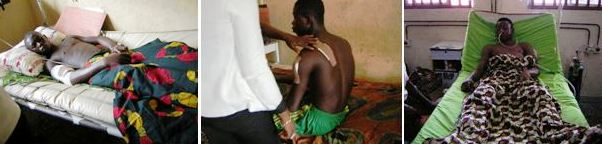 Victims of the latest Adadama Amagu war receiving treatment at UCTH