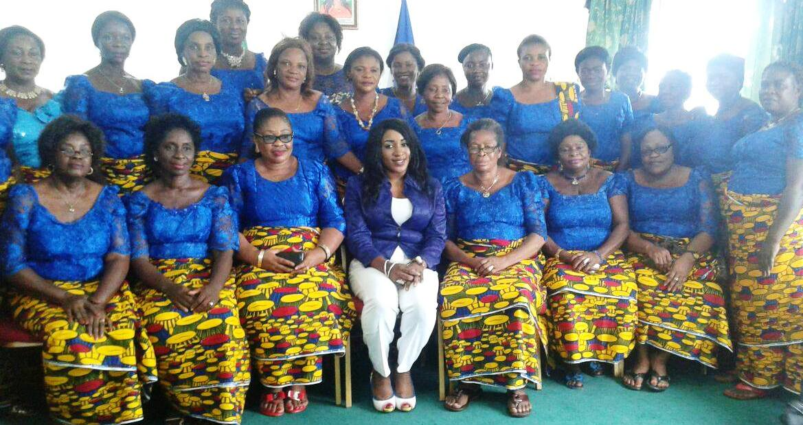 DG CRSPHCDA (m) and the Adadama Women after a courtesy visit on the DG in Calabar
