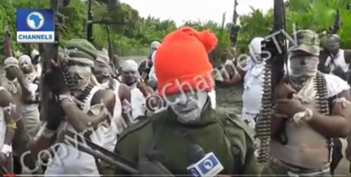 Bakassi strike force leader speaking to Channels TV