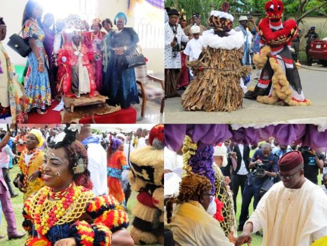 Scenes from the chietaincy investiture in Calabar