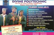 Teaching Vacancies Open At Divine Polytechnic, Mkpani