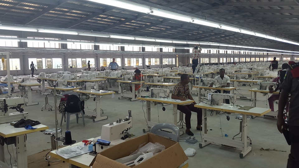 Cross River State Garment factory - Getting ready for commencement of operations