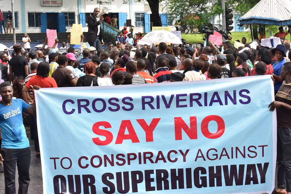 super highway protest4