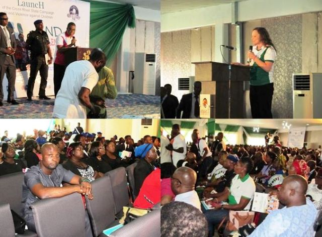 Deputy Governor of Cross River State, Professor Ivara Esu and other speakers and participants at the event in Calabar