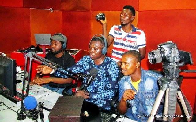 On set on Hit FM