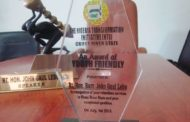 Nigeria Transformation Initiative Honors Cross Speaker With Youth-Friendly Award