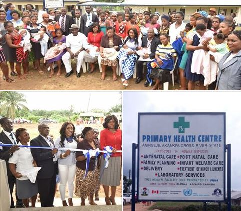 Commissioning of the Primary Health Center Aningeje, Akamkpa LGA