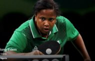 Rio 2016 Olympic Table Tennis: Cross River Born Offiong Edem Defeats Yee Sally 4-0