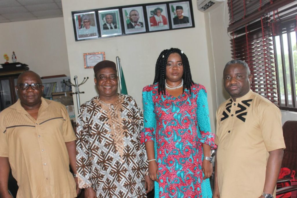 Dr Inyang Asibong (2nd from right) with health stakeholders after the meeting
