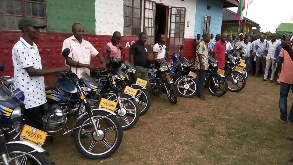 The ward chairmen and the motorcycles