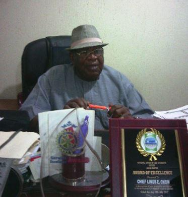 Chief Linus Okom (Ada Bekwara)