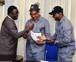 Governor Ayade and the state Chairman of NLC and TUC