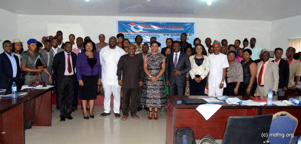Participants at the event (Photo Credit: Mediatrix Development Foundation)