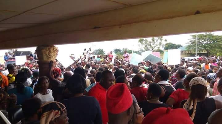 The rally (Photo Credit; Facebook/Solomon Asha)