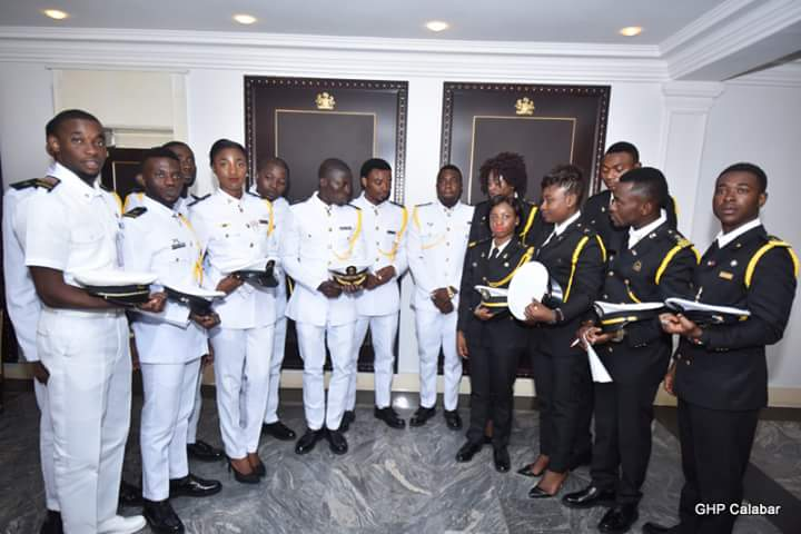 The Cadets (Photo Credit: Govt House Calabar/Dan Williams)