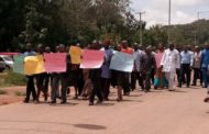 FCE Obudu Staff Protest As Police Rescue Kidnapped Lecturer