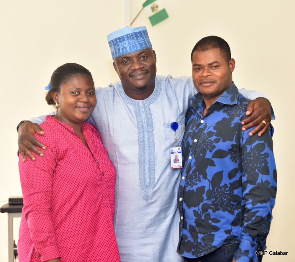 The New Leaders From L-R: Imani Odey, Rasheed Olanrewaju and Sunny Inah
