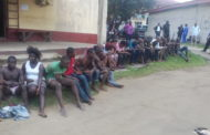 How Police In Calabar Foiled Kidnap Of Lady, Parade 22 Suspects