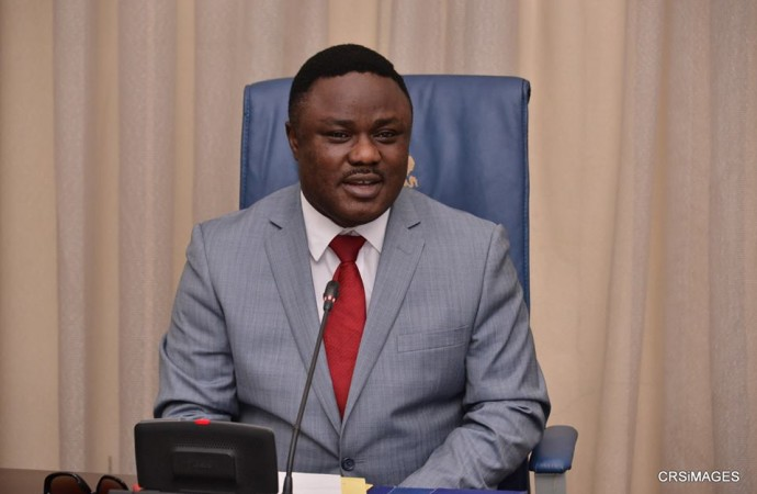 Governor Ben Ayade, to present 2017 budget today (Photo Credit: Govt House Calabar/Dan Williams)