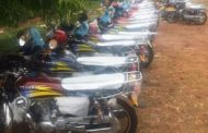 Again! APC Strengthens Party Machinery In Cross River North With 44 Motorcycles As Julius Okputu Defects