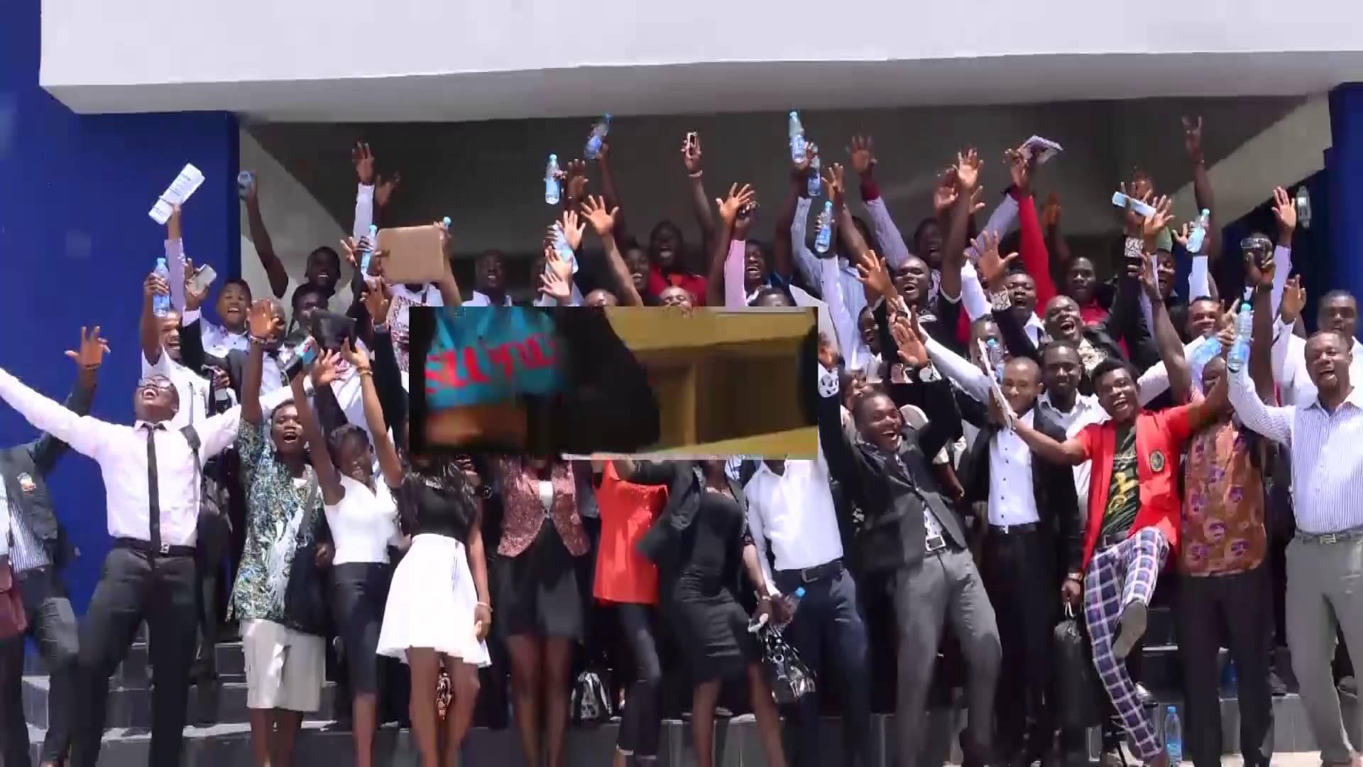students of ITM Ugep, (photo credit: YouTube)